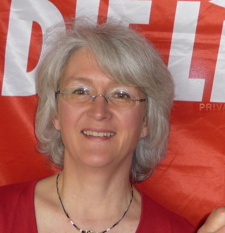 Nicole Stadler Bundestagskandidatin die Linke
